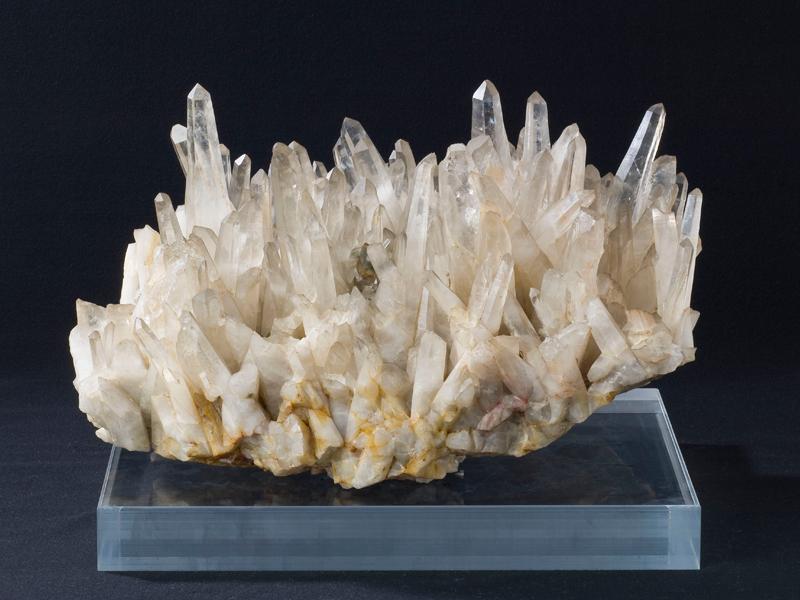 水晶峠産水晶晶族